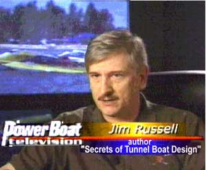 Jim Russel on Powerboat TV