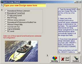 Tunnel Boat Design Software by AeroMarine Research